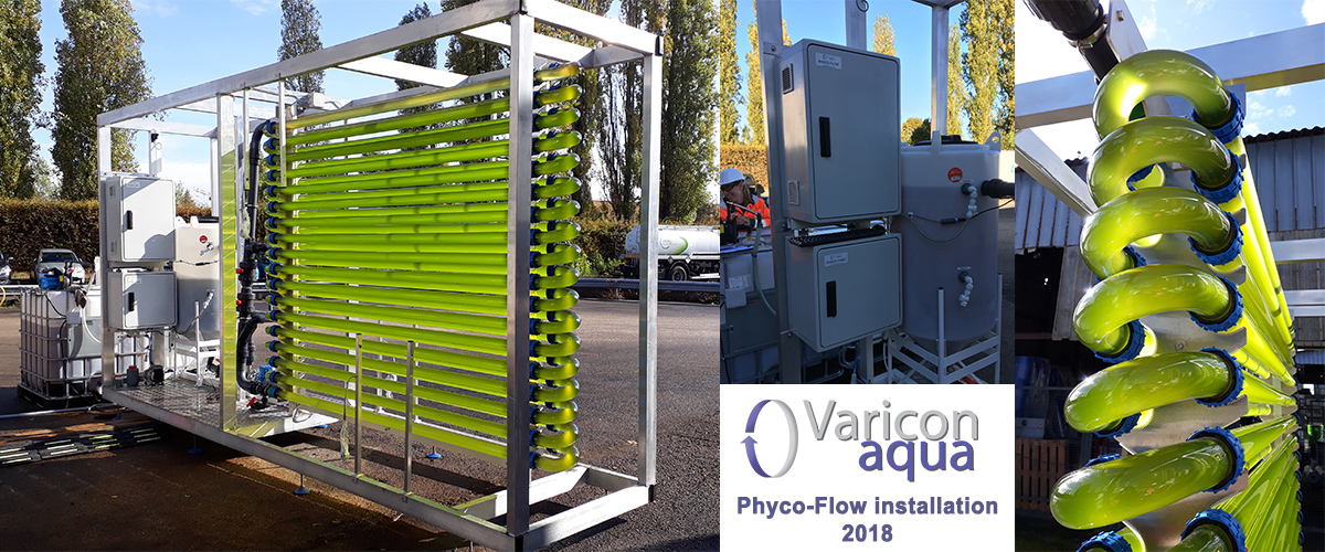 France Phycoflow installation for metal removal from industrial wastewater